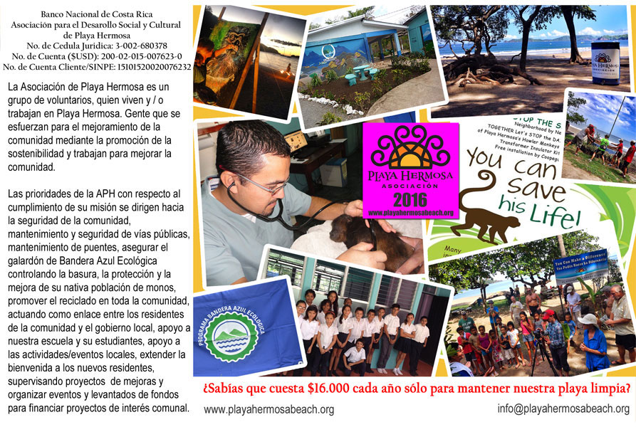 Playa Hermosa Assoc. Brochure