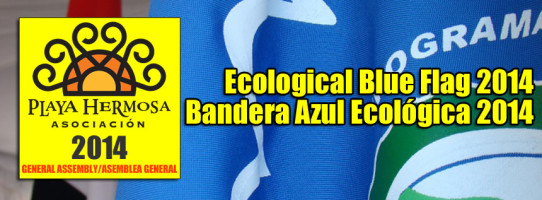 Ecological Blue Flag 2014/Bandera Azul Ecológica 2014