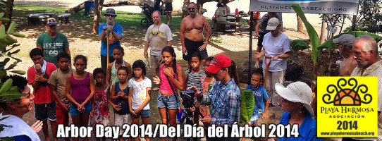 Playa Hermosa Assoc. - Arbor Day 2014