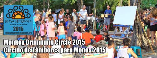Monkey Drumming Circle 2015