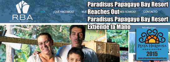 Paradisus Papagayo Bay Resort Reaches Out