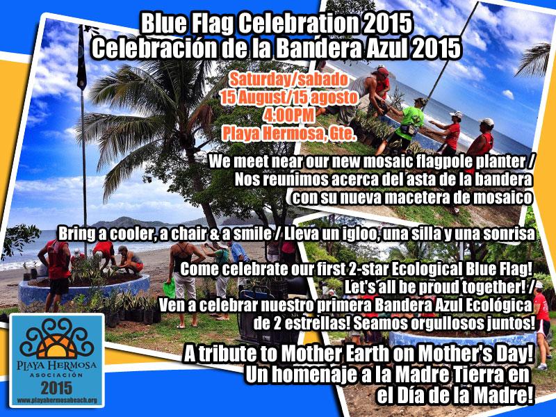 Blue Flag Celebration 2015/Celebración de la Bandera Azul 2015