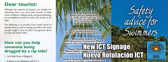 New ICT Signage Nuevo Rotulación ICT